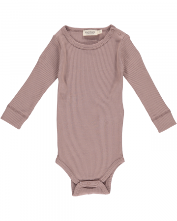 MARMAR - BODY MODAL LS PLAIN ROSE NUT
