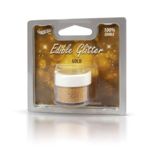 Dust spiselig Glitter Gull, 5g