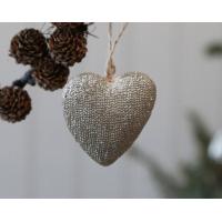 Hjerte med glitter