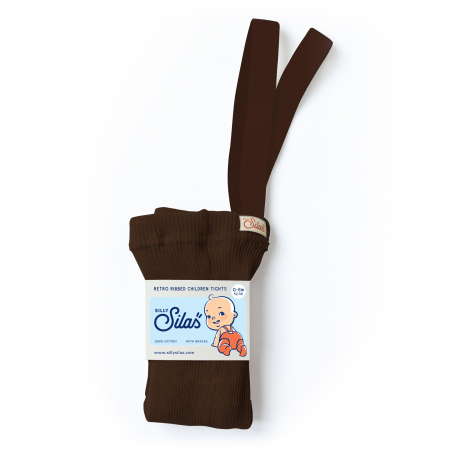 SILLY SILAS - TIGHTS CHOCOLATE BROWN