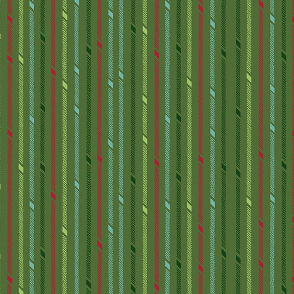 Better not pout stripes-green