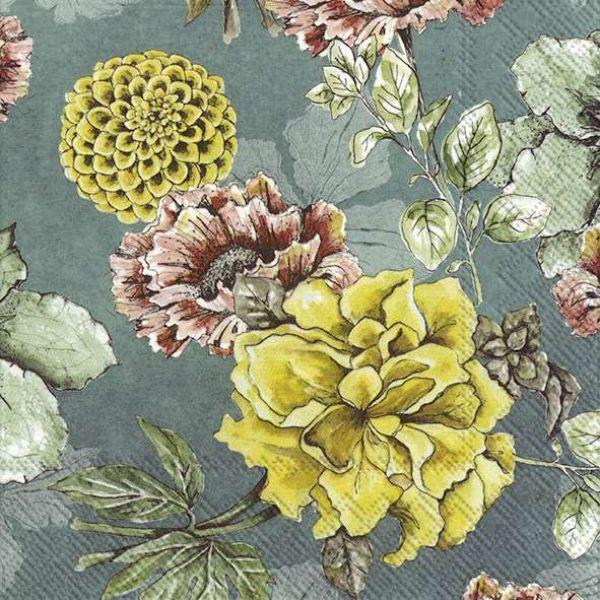 """Blossom Tale Green"" Lunsjserviett"