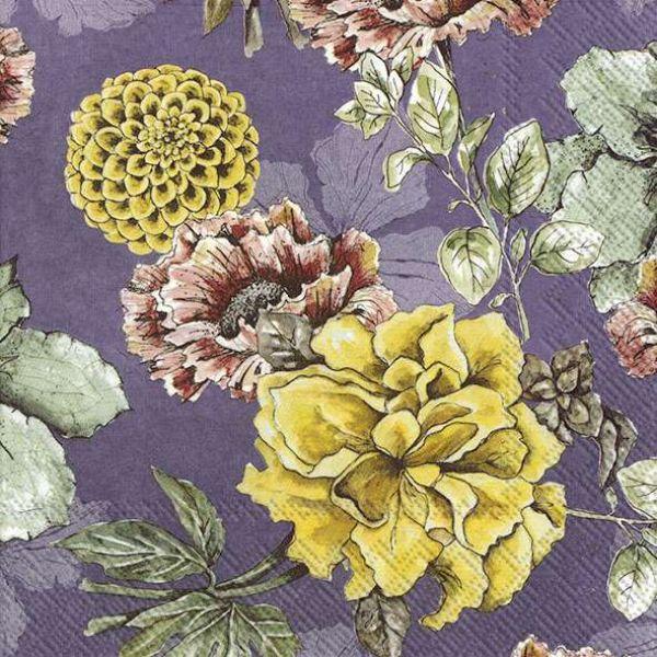"""""""Blossom Tale Lilac"""" Lunsjserviett"""