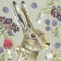 """Country Rabbit"" lunsjserviett"