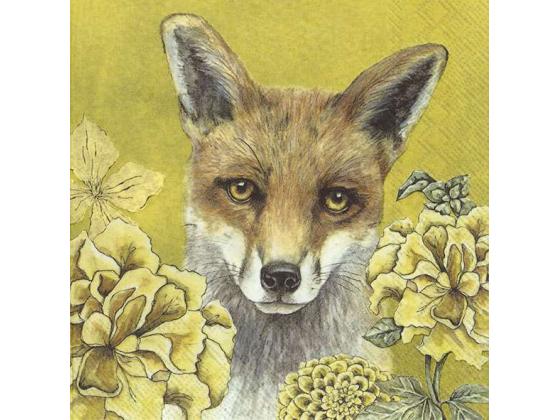 """""""Fox Tale"""", lunsjserviett"""