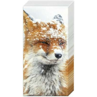 """Winter Fox"" tissues"
