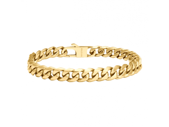 SON bracelet STEEL shiny - IPGold