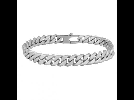 SON bracelet STEEL brushed