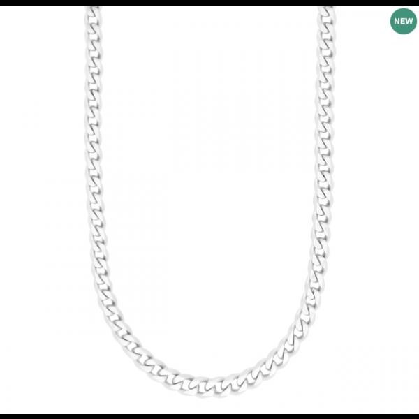 SON necklace STEEL brushed 60cm