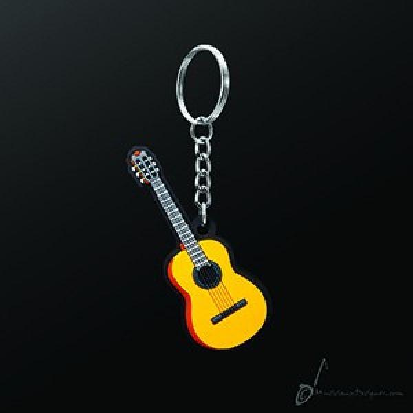 Nøkkelring klassisk gitar