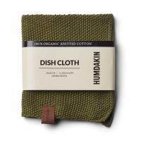 Knitted Dishcloth - Fern
