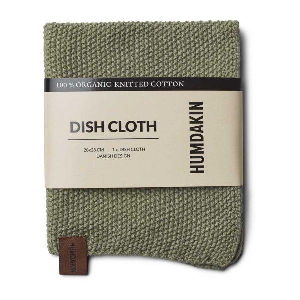 Knitted Dishcloth - Oak