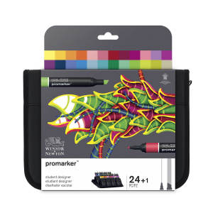 W&N Promarker st.designer 24pk