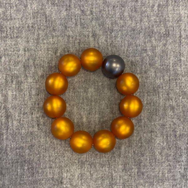 Marie Armbånd - Oransje
