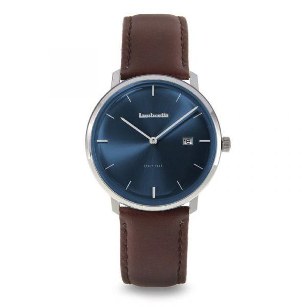 Volta 39 Leather Blue Brown