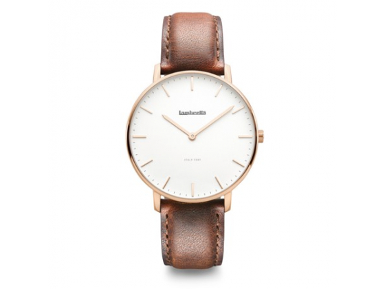 Classico 40 Rose Gold White Brown