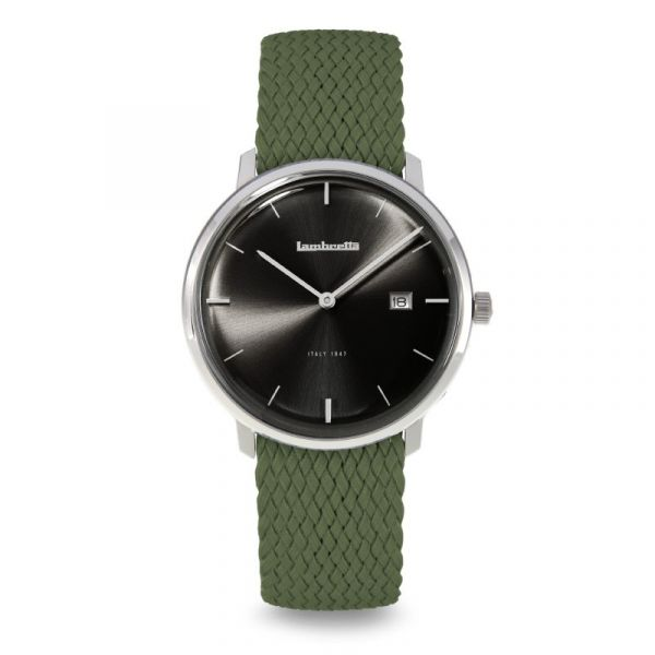 Volta 39 Perlon Black Green / Black