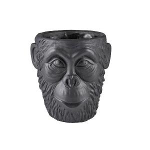 Gorilla potteskjuler sort liten