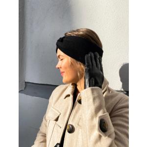 Knitted headband - Black