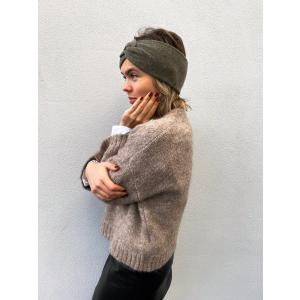 Knitted headband - Mint