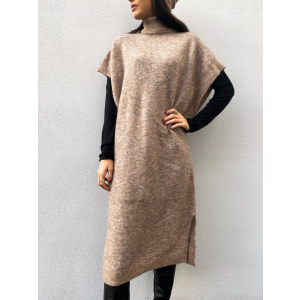 Coco Long Knit - Nude