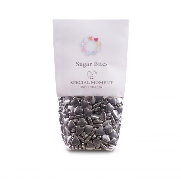Sukkerhjerter, sølv