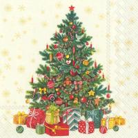 """Festive Christmas Tree"" cream lunch"