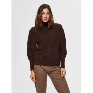 Linna genser brun