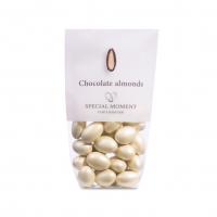 Mandel m/sjokolade, elfenben hvit