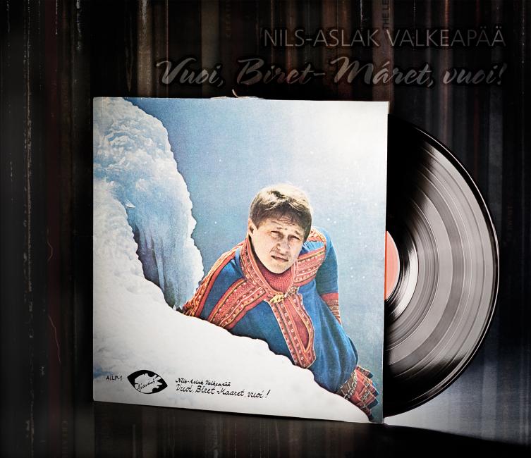 CD Nils-Aslak Valkeapääs / Áillohaš : Vuoi, Biret-Máret, vuoi!