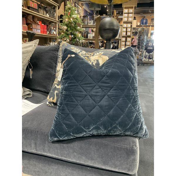 Luxurious putetrekk blå 50x50