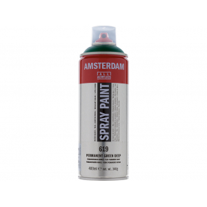 Amsterdam Spray 400ml – 619 Permanent green deep