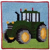Barnebroderi - Traktor
