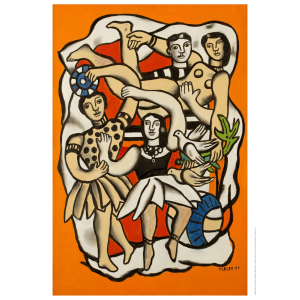Fernand Léger, Dancers with Birds.