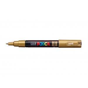 Uni POSCA PC-1M – Extra-Fine 0,7-1mm – 25 Gold