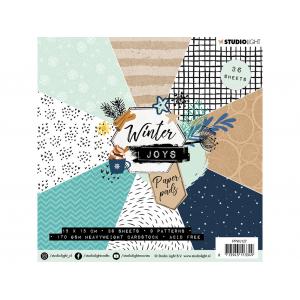 Studio Light Paper Pad 15×15 – Winter Joys 127