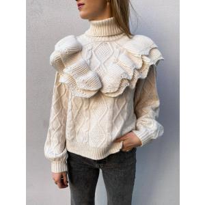 Choko Knit Pullover - Eggnog