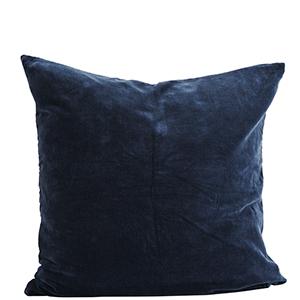 Putetrekk Velvet mørkeblå