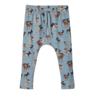 Reiner bukse med elg baby Modal