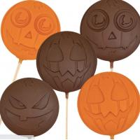Halloween sjokolade på pinne