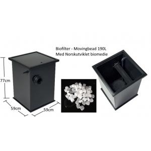 Biologisk filter - moving bed