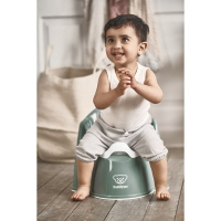 BabyBjörn Pottestol, Powder Green/White
