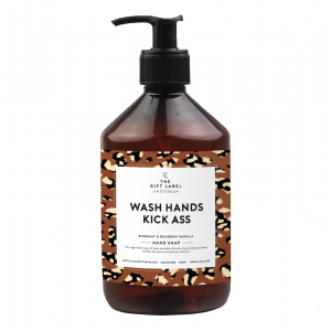 Wash hands and kick ass håndsåpe