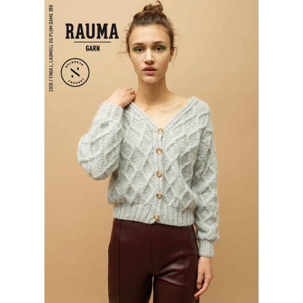 Hefte Rauma Garn - 355 Finull, Lamull Dame