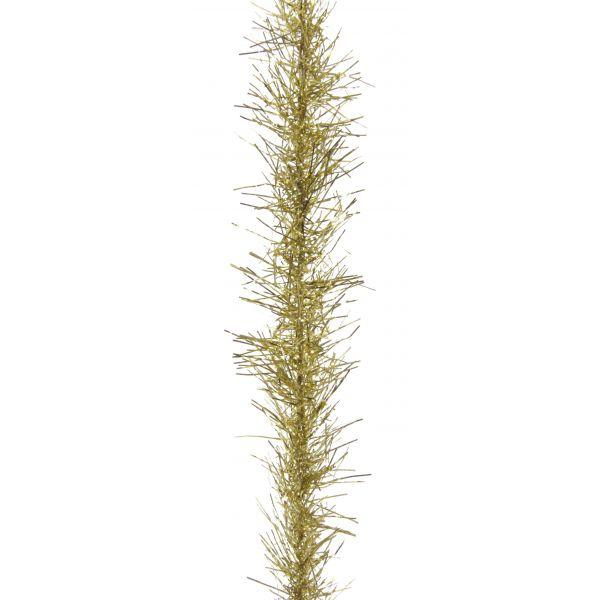 Tinsel garland gold 4m