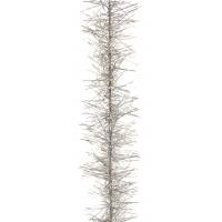 Tinsel garland silver 4m
