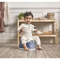 BabyBjörn Smart Potte, Deep Blue/White