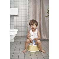 BabyBjörn Smart Potte, Powder Yellow/White