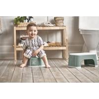 BabyBjörn Smart Potte, Deep Green/White