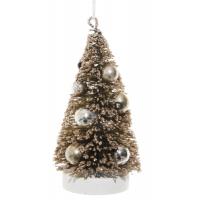 Tree ornament Champagne 10cm